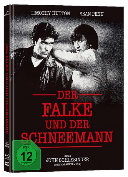 Der Falke und der Schneemann (Mediabook, Blu-ray + DVD)