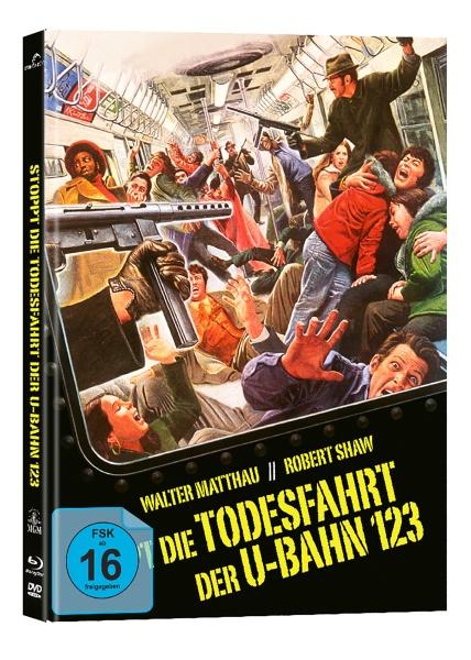Stoppt die Todesfahrt der U-Bahn 123 (Mediabook, Blu-ray + DVD)