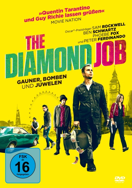 The Diamond Job - Gauner, Bomben und Juwelen (DVD)