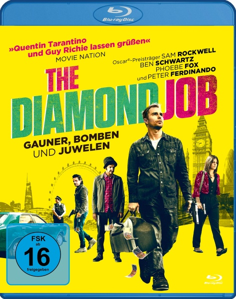 The Diamond Job - Gauner, Bomben und Juwelen (Blu-ray)