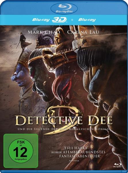 Detective Dee und die Legende der vier himmlischen Könige (3D Blu-ray inkl. 2D Fassung)