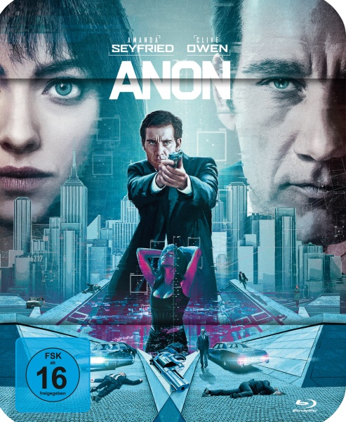 Anon (Steelbook) (Blu-ray)