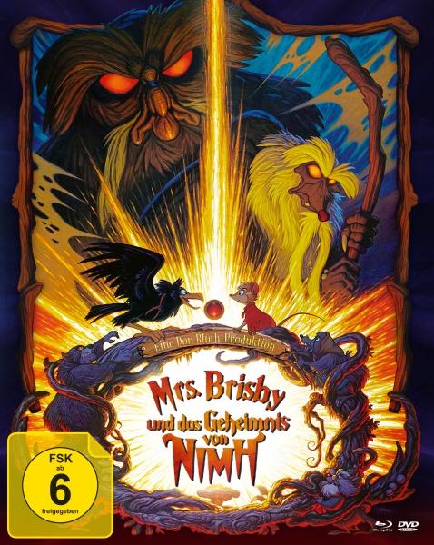 Mrs. Brisby und das Geheimnis von NIMH (Mediabook, Blu-ray + DVD)