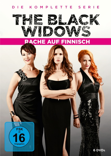 Black Widows - Rache auf Finnisch - Die komplette Serie (6 DVDs)