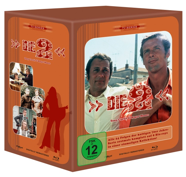 Die Zwei - Limited Retro Edition (7 Blu-rays + 1 DVD)