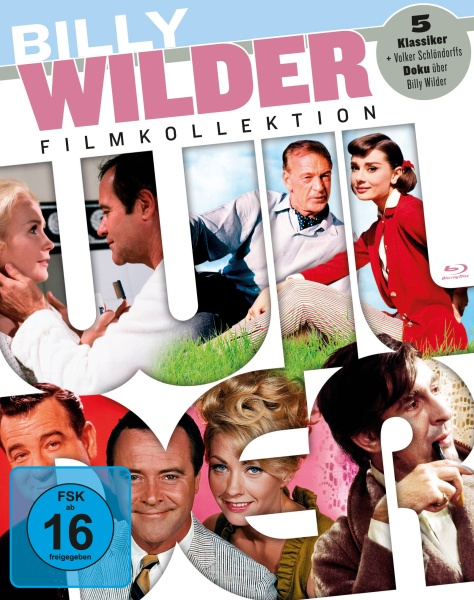 Billy Wilder Collection (5 Blu-rays + 1 DVD)