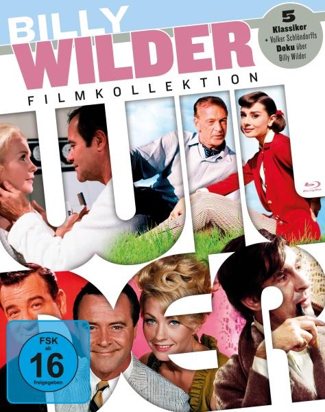 Billy Wilder Collection (5 Blu-rays + 1 DVD)