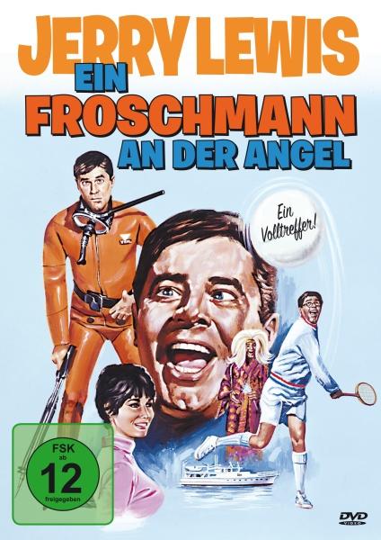 Jerry Lewis: Ein Froschmann an der Angel (DVD)