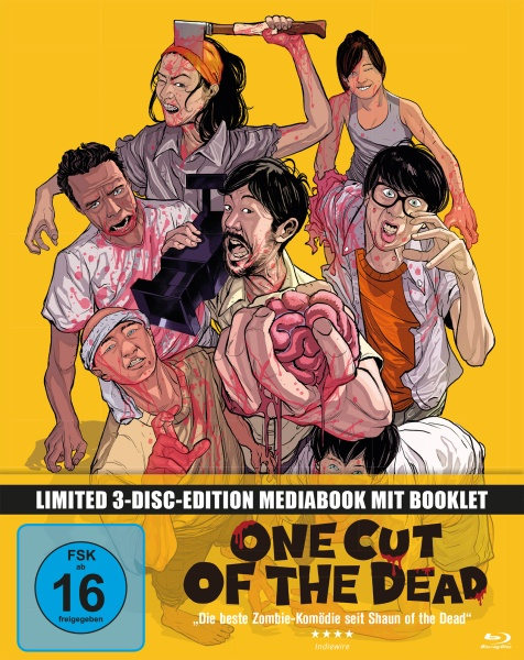 One Cut of the Dead (Mediabook, 1 Blu-ray + 2 DVDs)