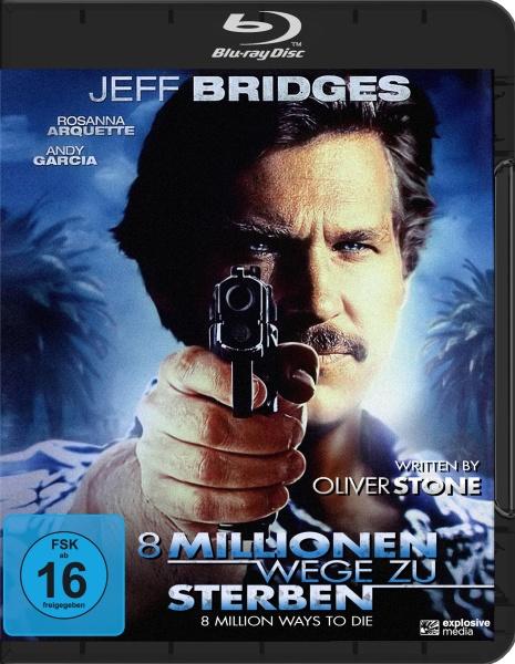 8 Millionen Wege zu Sterben (Blu-ray)