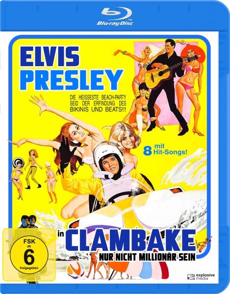 Nur nicht Millionär sein (Clambake) (Blu-ray)