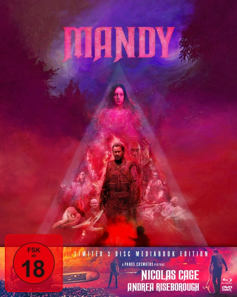 Mandy (Mediabook, 1 Blu-ray + 2 DVD)