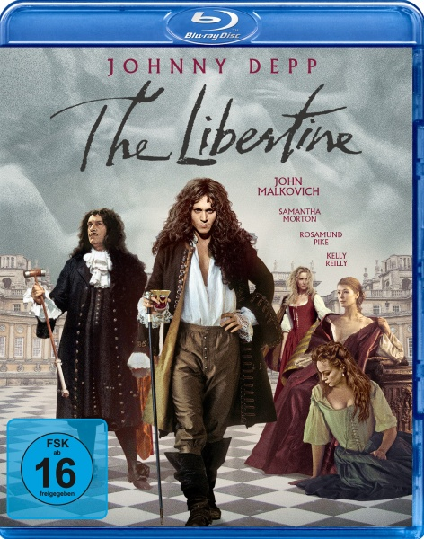 The Libertine - Sex, Drugs & Rococo (Blu-ray)