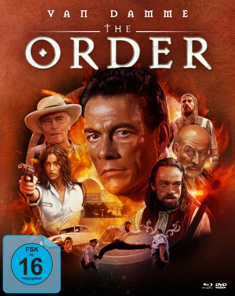 The Order (Mediabook, Blu-ray + DVD) (Cover B)