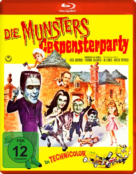 Die Munsters: Gespensterparty (Blu-ray)