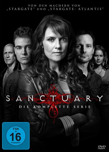 Sanctuary - Die komplette Serie (Keepcase) (13 Blu-rays)