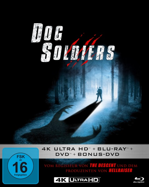 Dog Soldiers (Mediabook, 1 Blu-ray + 2 DVDs + 1 UHD)