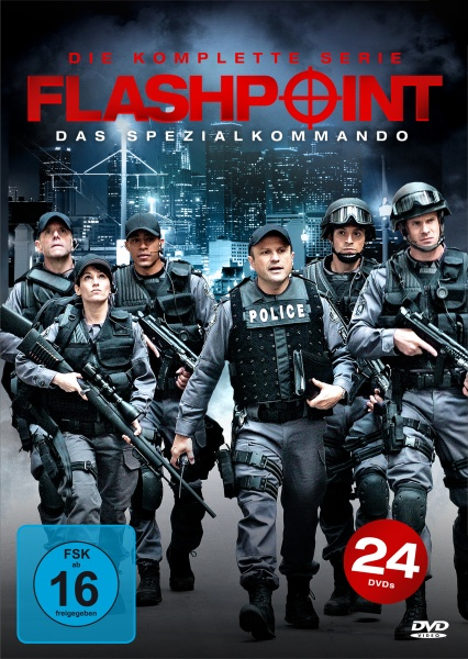 Flashpoint: Das Spezialkommando - Die komplette Serie (Keepcase) (24 DVDs)