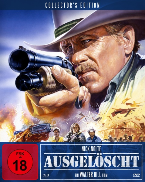 Ausgelöscht - Extreme Prejudice (Mediabook A, Blu-ray + DVD)