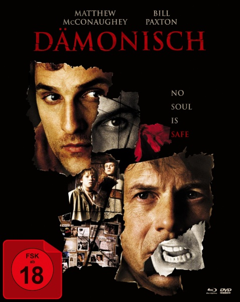 Dämonisch (Mediabook, 1 Blu-ray + 2 DVDs)