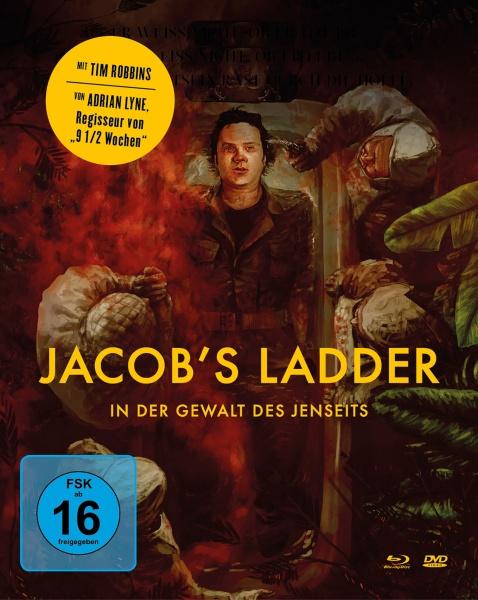 Jacob's Ladder - In der Gewalt des Jenseits (Mediabook, Blu-ray+DVD)