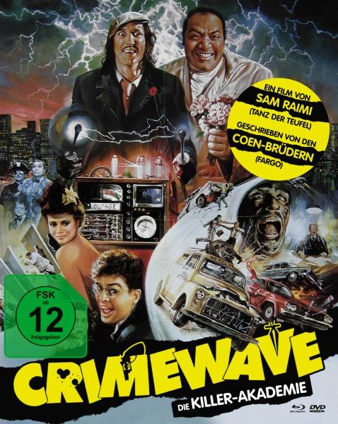 Die Killer-Akademie (Mediabook A, Blu-ray + DVD)
