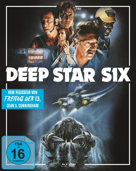 Deep Star Six (Mediabook A, Blu-ray + DVD)