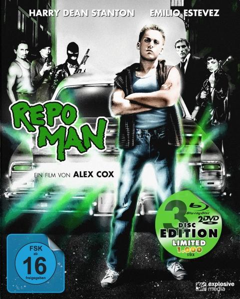 Repo Man (Mediabook, 1 Blu-ray + 2 DVDs)