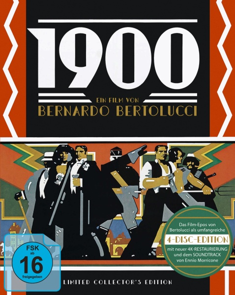 1900 - Limited Collectors Edition (3 Blu-rays + 1 CD)