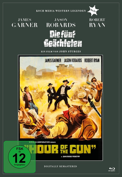 Die fünf Geächteten (Edition Western-Legenden #61) (Blu-ray)