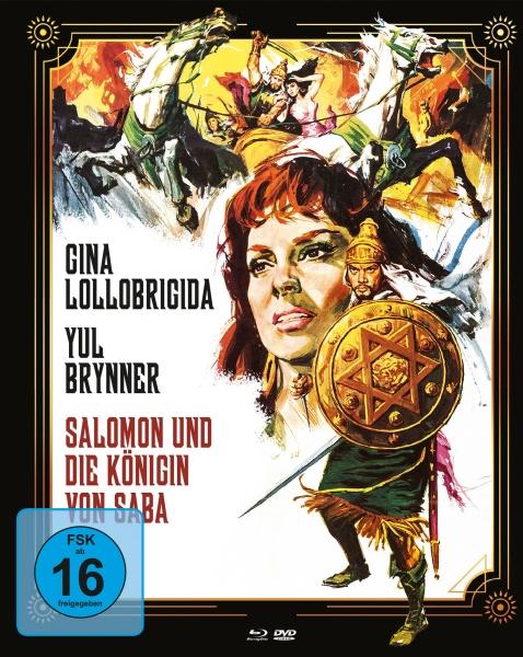 Salomon und die Königin von Saba (Mediabook A, Blu-ray + DVD)