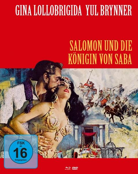 Salomon und die Königin von Saba (Mediabook B, Blu-ray + DVD)