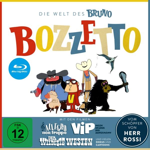 Die Welt des Bruno Bozzetto (3 Blu-rays + 1 DVD)