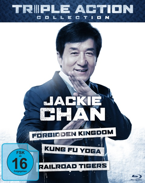 Jackie Chan Triple Action Collection (3 Blu-rays)