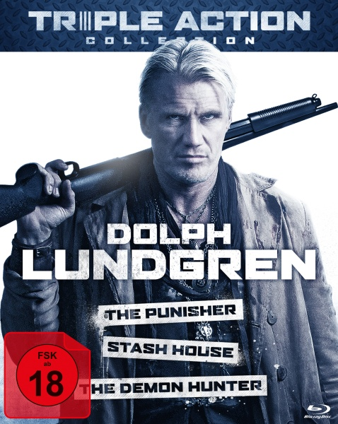 Dolph Lundgren Triple Action Collection (3 Blu-rays)
