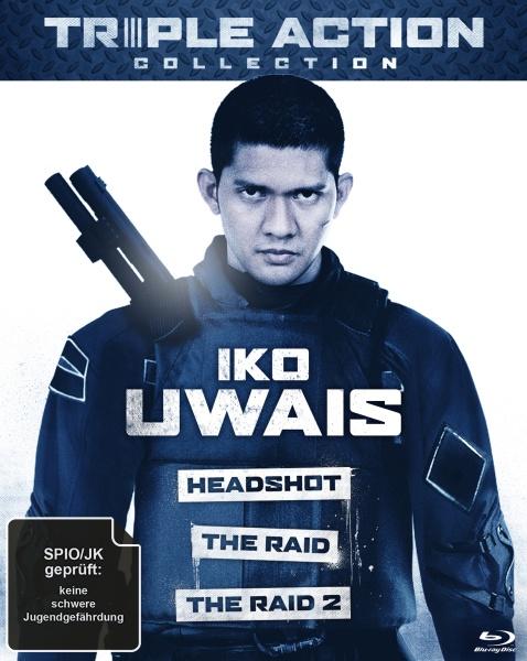 Iko Uwais Triple Action Collection (3 Blu-rays)