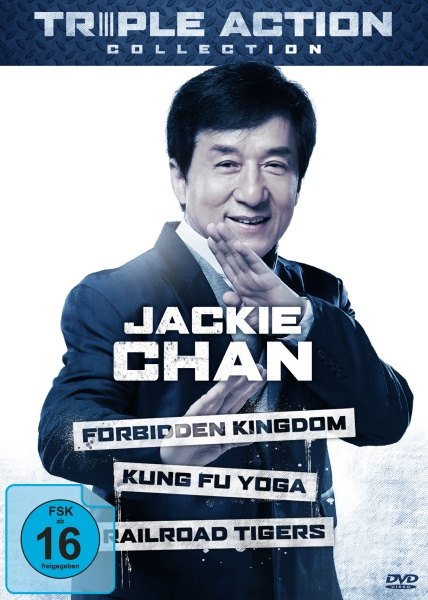 Jackie Chan Triple Action Collection (3 DVDs)
