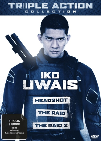 Iko Uwais Triple Action Collection (3 DVDs)
