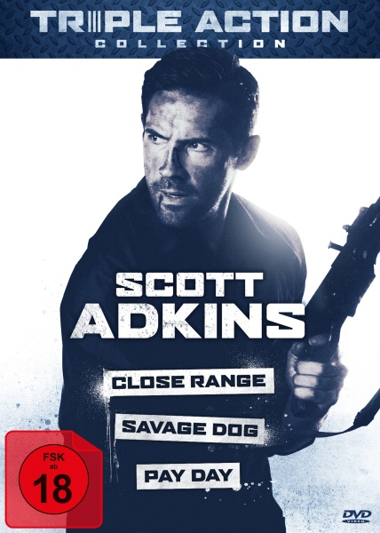 Scott Adkins Triple Action Collection (3 DVDs)