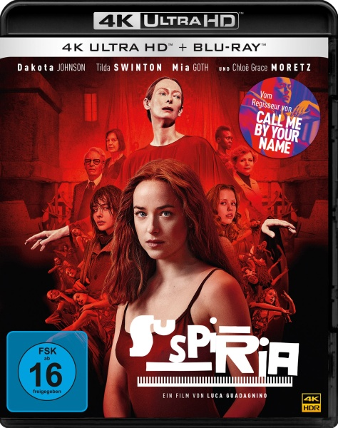 Suspiria (4K Ultra HD + Blu-ray)