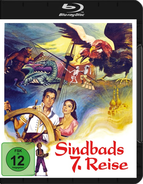 Sindbads 7. Reise (The 7th Voyage of Sinbad) (Blu-ray)