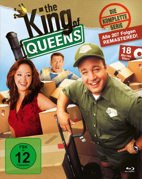 The King of Queens - Die komplette Serie - King Box (18 Blu-rays)