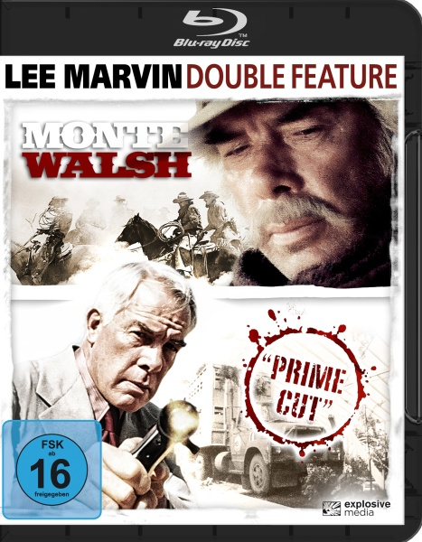 Lee Marvin Double Feature (Prime Cut & Monte Walsh) (2 Blu-rays)