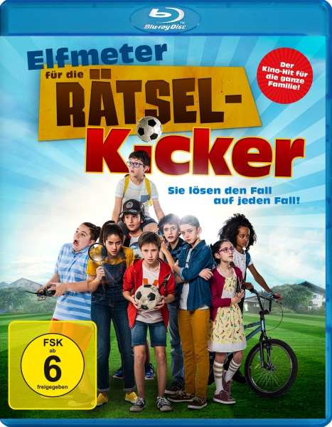 Elfmeter für die Rätsel-Kicker (Blu-ray)