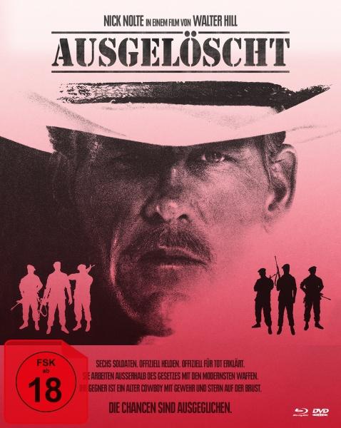 Ausgelöscht - Extreme Prejudice (Mediabook B, Blu-ray + DVD)
