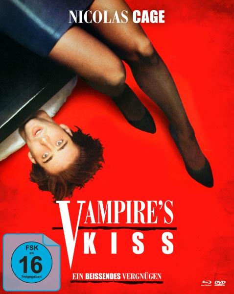 Vampire's Kiss - Ein beißendes Vergnügen (Mediabook, Blu-ray+DVD)