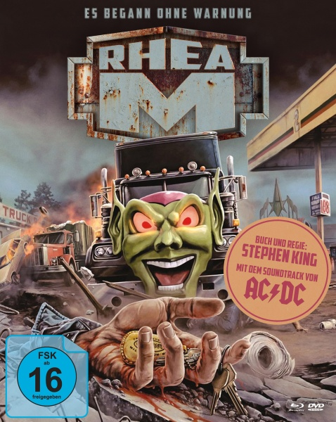 Stephen Kings Rhea M... Es begann ohne Warnung (Mediabook A, 2 Blu-rays + 1 DVD)