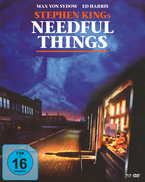 Stephen Kings Needful Things - In einer kleinen Stadt (Mediabook, 1 Blu-ray + 2 DVDs)