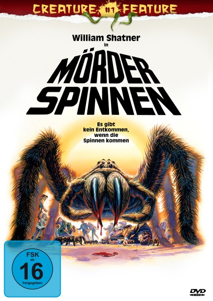Mörderspinnen (Creature Features Collection #1) (DVD) (Neuauflage)