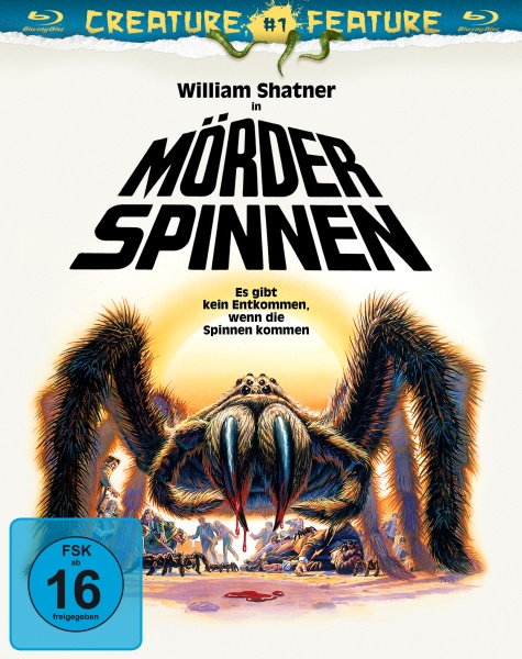 Mörderspinnen (Creature Features Collection #1) (Blu-ray)